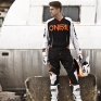 2018 ONeal Mayhem Lite Kit Combo - Blocker Black White Orange