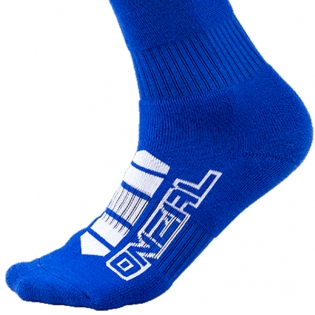 ONeal MX Pro Boot Socks - Corp Blue Image 4