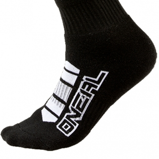 ONeal MX Pro Boot Socks - Corp Black Image 4