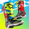Alpinestars Tech 10 Boots - Ltd Union Flo Yellow Turq Red Grey
