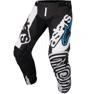 2018 Alpinestars Techstar Kit Combo - Venom Black White Aqua Image 4