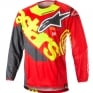 2018 Alpinestars Techstar Kit Combo - Venom Red Flo Ylw Anth