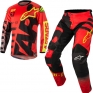 2018 Alpinestars Racer Kit Combo - Braap Red Black Flo Yellow
