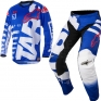 2018 Alpinestars Racer Kit Combo - Braap Blue White Red