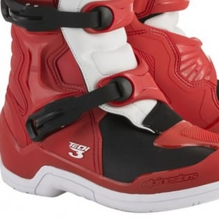 Alpinestars Tech 3 Boots - Red White Image 3