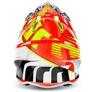 2018 Airoh Aviator 2.2 Helmet Double Orange Image 3
