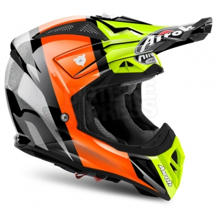 2018 Airoh Aviator 2.2 Helmet Revolve Orange Image 4