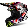 2018 Airoh Twist Helmet Crazy Black