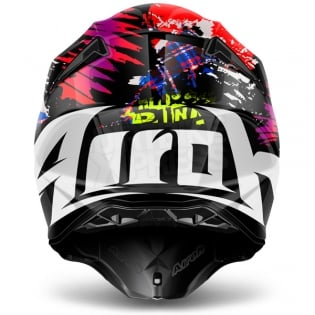 2018 Airoh Twist Helmet Crazy Black Image 3