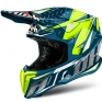 2018 Airoh Twist Helmet Iron Blue
