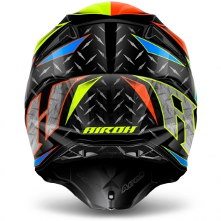 2018 Airoh Twist Helmet Iron Orange Image 3