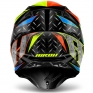 2018 Airoh Twist Helmet Iron Orange