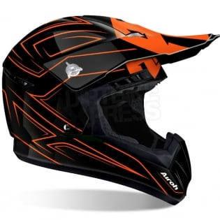 2018 Airoh Switch Helmet Spacer Orange Gloss Image 3