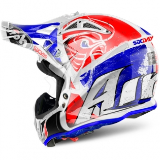 2018 Airoh Aviator 2.2 Helmet Six Days Red Image 2