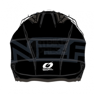 ONeal Slat Trials Helmet - Solid Black Image 2