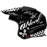 ONeal Slat Trials Helmet - Torment Black White