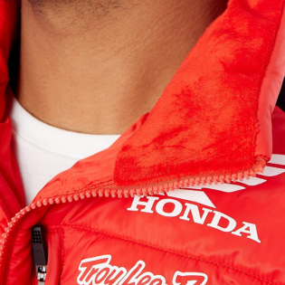 Troy Lee Designs Honda Puff Jacket - Red Image 2