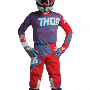 2018 Thor Pulse Kit Combo - Geotec Red Blue Image 2