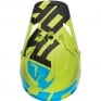 2018 Thor Sector Helmet - Level Electric Blue Lime