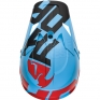 2018 Thor Sector Helmet - Level Powder Blue Red
