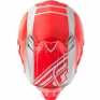 2018 Fly Racing F2 Carbon Helmet - Rewire Gloss Red Grey
