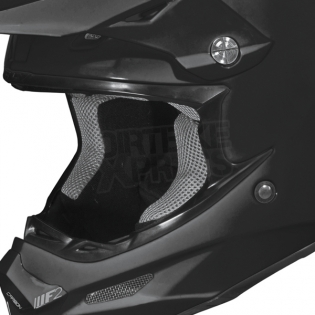 2018 Fly Racing F2 Carbon Solid Helmet - Matte Black Image 3