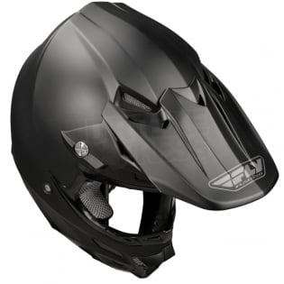 2018 Fly Racing F2 Carbon Solid Helmet - Matte Black Image 4