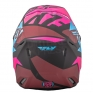2018 Fly Racing Elite Helmet - Guild Matte Neon Pink Blue Black