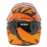 2018 Fly Racing Elite Helmet - Guild Gloss Orange White Black