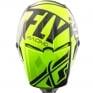 2018 Fly Racing Elite Helmet - Guild Gloss Hi Viz Grey Black