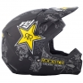 2018 Fly Racing Elite Helmet - Rockstar Black Charcoal Yellow