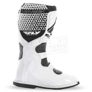 2018 Fly Racing Maverik MX Boots - White Image 4