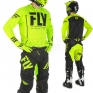2018 Fly Racing Lite Hydrogen Kit Combo - Black Hi Viz