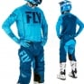 2018 Fly Racing Lite Hydrogen Kit Combo - Blue Navy