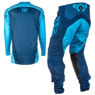 2018 Fly Racing Lite Hydrogen Kit Combo - Blue Navy Image 4