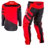 2018 Fly Racing F16 Kit Combo - Red Black