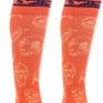 Fly Racing MX Pro Thin Socks - Orange Purple