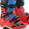 Alpinestars Tech 7 Boots - Flo Red Cyan Grey Black