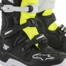 Alpinestars Tech 5 Boots - Black White Fluo Yellow