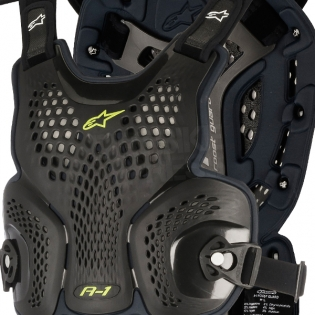 Alpinestars A1 Chest Protector - Black Anthracite Image 2
