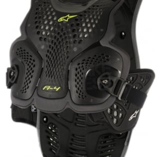 Alpinestars A4 Chest Protector - Black Anthracite Image 2