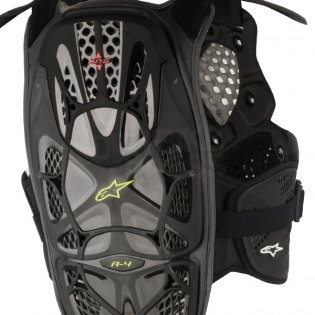 Alpinestars A4 Chest Protector - Black Anthracite Image 4