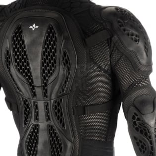 Alpinestars Bionic Action BNS Protection Jacket - Black Red Image 4