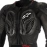 Alpinestars Kids Bionic Action Protection Jacket - Black Red