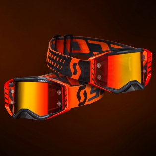 2018 Scott Prospect Goggles - Black Orange Chrome Image 2