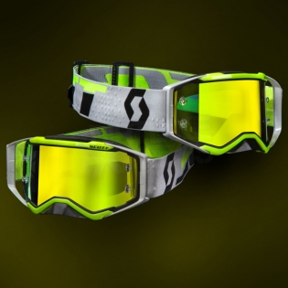 2018 Scott Prospect Goggles - Black Yellow Chrome Image 2