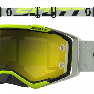 2018 Scott Prospect Goggles - Black Yellow Chrome Image 3