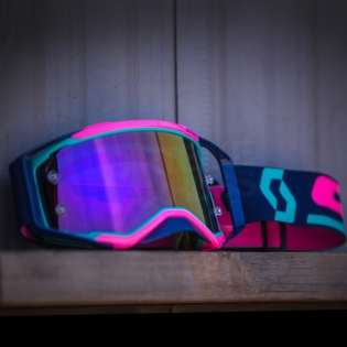 2018 Scott Prospect Goggles - Teal Pink Purple Chrome Image 4