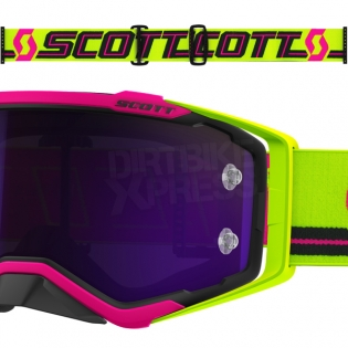 2018 Scott Prospect Goggles - Pink Yellow Purple Chrome Image 3