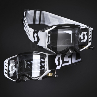 2018 Scott Prospect WFS Goggles - Black White Clear Image 2